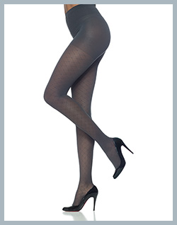 Sigvaris Allure Pantyhose for Women - Graphite pictured