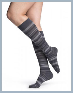 Sigvaris Mini Microfiber Socks for Men and Women