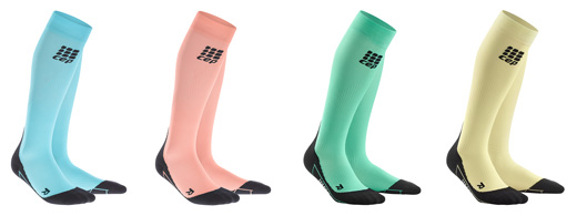 CEP Pastel Training Partner Compression Socks in 4 colours