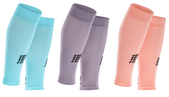 CEP Compression Calf Sleeves in Pastel Colours