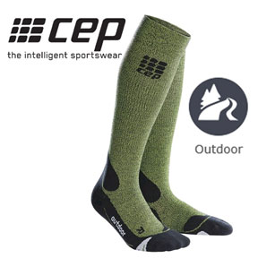 Outdoor merino wool socks for both men and women